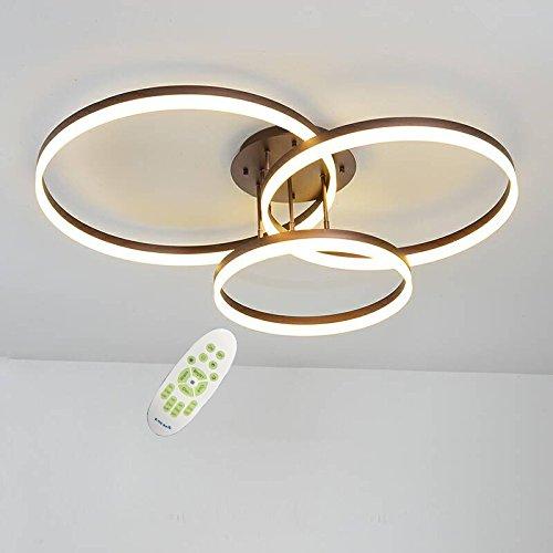 LightInTheBox 3ライトLEDダイニングルーム、リビングルームの天井灯調光対応リモコンシャンデリア
