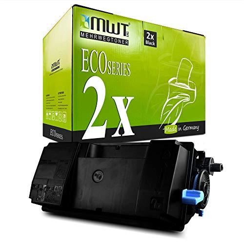 2X MWT Toner für Kyocera Ecosys M 3040 3540 idn ersetzt 1T02NX0NL0 Black Schwarz TK 3150