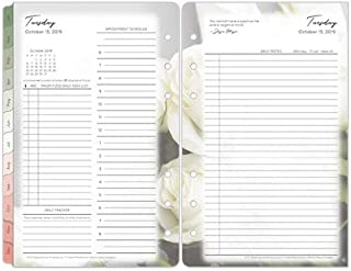 Compact Blooms Daily Ring-Bound Planner - Oct 2019 - Sep 2020
