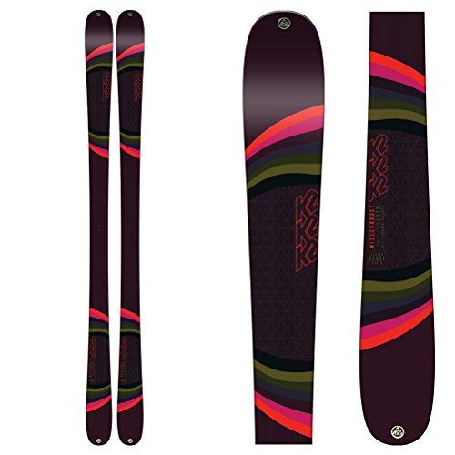 K2 Missconduct Skier für Damen, Größe 159, Braun