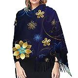 Achat en ligne dans un vaste choix sur la boutique - Bufanda de invierno de alta tecnología, para mujer, larga, grande, cálida, gruesa, reversible.