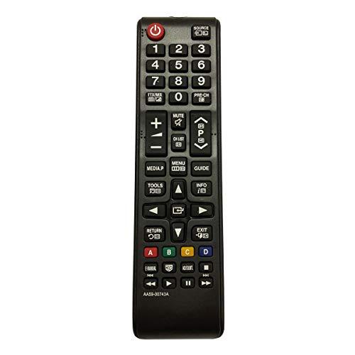 Control Remoto Compatible para Samsung UE32EH4003W Televisión/TV