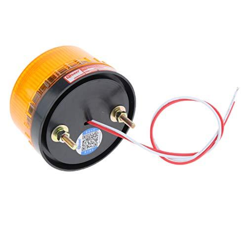 Luz De Advertencia De Luz Estroboscópica Giratoria LED De 24 V Señal De Señalización De Flash De Baliza Roja - 7