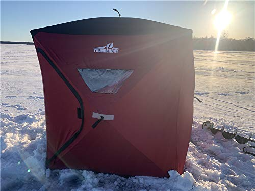 Product Image 1: THUNDERBAY Ice Cube 3 Man Portable Ice Shelter