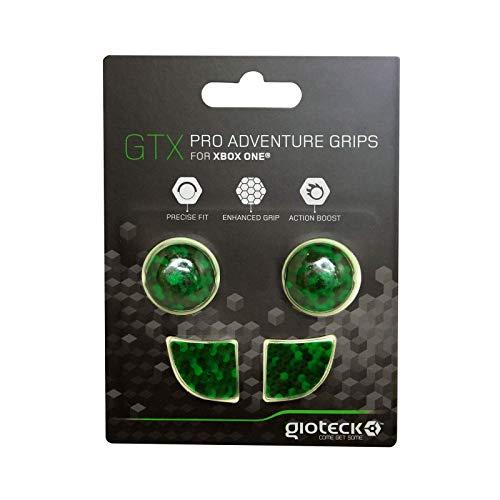 Gioteck - GTX XB1 - Funda Protectora de Silicona para Mando Xbox One, Protección para Joysticks, Antideslizante, Precisión Grips para Xbox One Cubos Verdes (Xbox One)