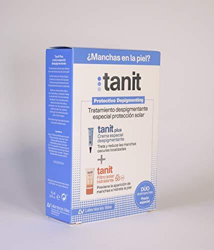 Laborarotios Viñas Tanit Pack Tratamiento Antimanchas Crema Despigmentante 15 ml + Fluido antimanchas 50ml, único