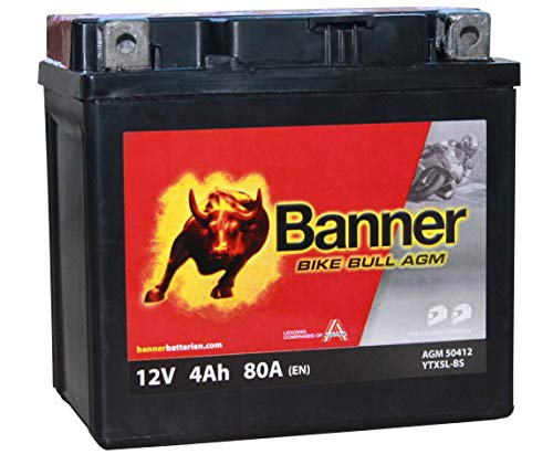 Banner Bike Bull - Batterie moto 12V 4Ah 80A