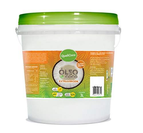 Óleo de Coco Extra Virgem Balde 3L QualiCoco