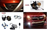 TAOCHIS Renault Duster 55W Bi-Xenon HID Projector High/Low Beam Fog Lights DIY Kit with Beam Level Adjustment