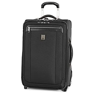 Travelpro PlatinumMagna2 Carry-On Expandable Rollaboard Suiter Suitcase, 22-in, Black