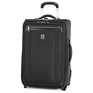 Travelpro Platinum Magna 2-Softside Expandable Upright Luggage, Black, Carry-On 22-Inch (B00X6JRSMK) | Amazon price tracker / tracking, Amazon price history charts, Amazon price watches, Amazon price drop alerts