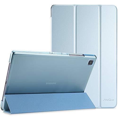 ProCase Funda para Galaxy Tab A7 10.4' 2020 T500 T505 T507, Carcasa Delgada con Posterior Translúcido para Tableta Galaxy Tab A7 10.4 Inch SM-T500/T505/T505N/T507 Versión 2020 - Azul Cielo