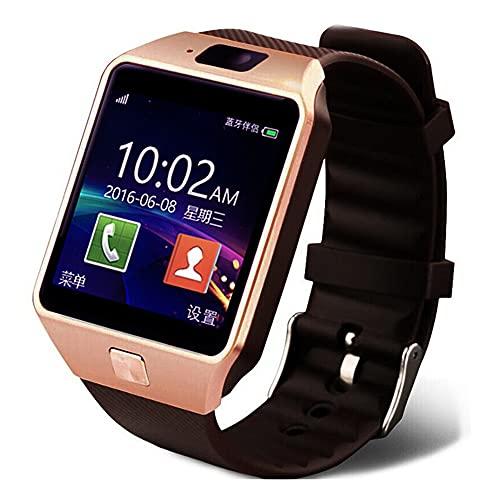 DLBJ SmartWatch, 1.56'' Reloj Inteligente IP67 con Pantalla Táctil, Pulsera de Actividad Inteligente Hombre para Deporte Monitor de Actividades Podómetro Cronómetro Pulsómetro para iOS Android