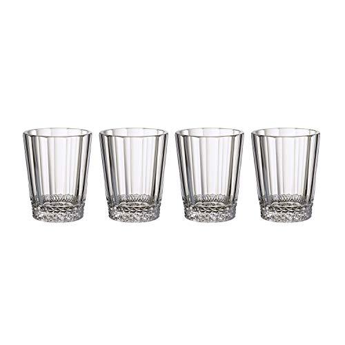 Villeroy & Boch Opéra Bicchieri per Acqua, Set da 4, 315 milliliters, Cristallo, Trasparente