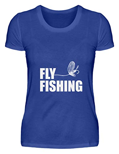 Schuhboutique Doris Finke UG (haftungsbeschränkt) Fly Fishing Fly Fishing - Damen Premiumshirt -XL-Royal Blau