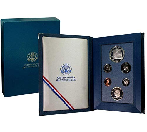 1987 US Mint Prestige Proof Set Original Government Packaging