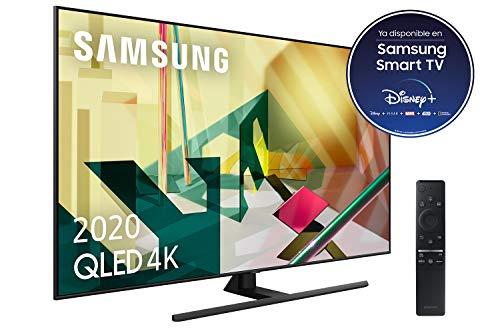 """Samsung QLED 4K 2020 65Q70T - Smart TV de 65"""" con Resolución 4K UHD, Inteligencia Artificial 4K, HDR 10+, Multi View, Ambient Mode+, One Remote Control y Asistentes de Voz integrados (Alexa)"""