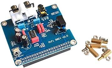 Módulo de tarjeta de sonido de audio HAC DAC Interfaz I2S para Raspberry pi B +, Raspberry Pi 2 Modelo B