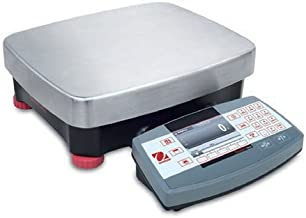 Ohaus R71MD6 Die Cast/Stainless Steel Ranger 7000 Compact Bench Scale, 6 kg Capacity, 0.0002 lb. Readability