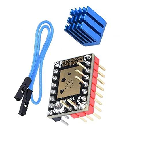Stepper Motor Driver TMC2209 V1.2 Peak Driver 3D Printer Parts UART Mode Motherboard 2PCS Potable DIY Tool