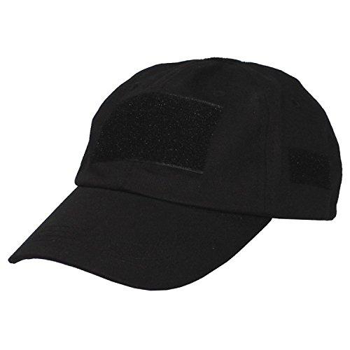 Geo Casquette de Livraison, avec Velcro, Taille Unique, Noir, One Size