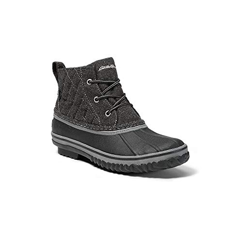 Eddie Bauer Women's Hunt Pac Mid Boot - Fabric, Charcoal Regular 8M
