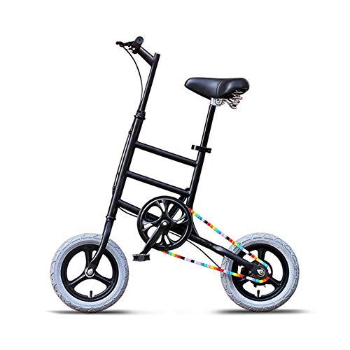 LCLLXB Bicicleta de Carretera Mini Bike Park Transit Vehículos para Adultos Hombres y Mujeres Adultos, C