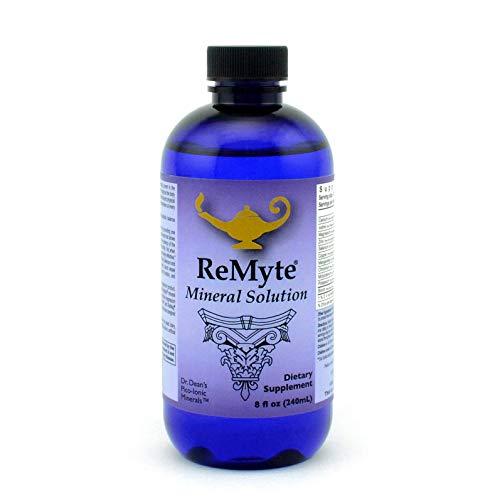 RnA ReSet - ReMyte Mineral Solution, Liquid Multi Mineral, Electrolyte Solution, 12 Minerals Including Iodine, Selenium, Zinc, Magnesium, Boron, 240 ml - by Dr. Carolyn Dean