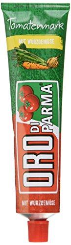ORO di Parma Tomaten Mark mit Würzgemüse, 15er Pack (15 x 200 g Tube)