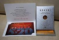 嵐 ARASHI スワロフスキー ゴールド Anniversary 5×20ファンクラブ