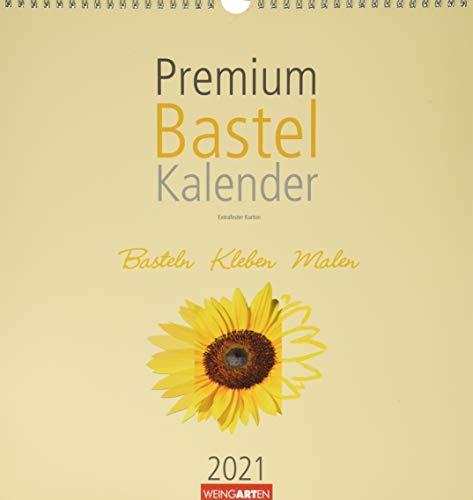 Bastelkalender Champagner 32x34 Kalender 2021
