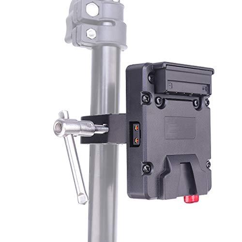 Fotga Mini Nano V-Lock V-Mount - Adaptador para pilas en formato de...
