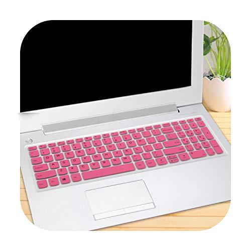 TOIT - Funda con teclado para Lenovo Ideapad 320 520 720 15 15'320E 320-15 320-15Isk 320-15Iap 15Isk Notebook 15 6 pulgadas funda protectora para teclado portátil
