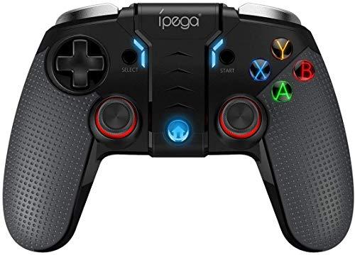 HK Mando de Juegos inalámbrico, Controlador de Juego Compatible con Android, Windows PC Doble Motor de vibración