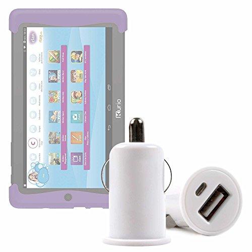 DURAGADGET Cargador Mechero del Coche con Puerto USB para Cefatronic - Tablet Clan Motion Pro - ¡No Se Quede Sin Batería Mientras Va Conduciendo