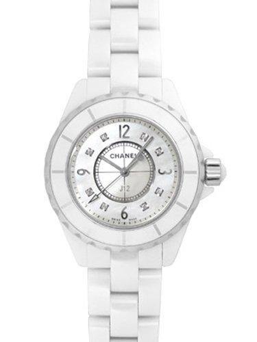[シャネル] CHANEL 腕時計 J12 ホワイトセラミック 33ミリ 8Pダイヤ H2422 レディース [並行輸入品]