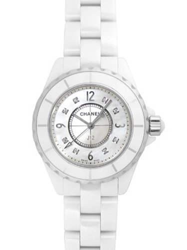 [シャネル] CHANEL 腕時計 J12 ホワイトセラミック 33ミリ 8Pダイヤ H2422 レディース 新品 [並行輸入品]