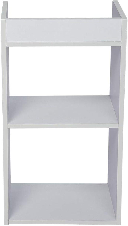Kimanli Bookshelf, Simple Fashion Floor Bedroom Shelf Creative Free Combination Small Bookcase Bookshelf
