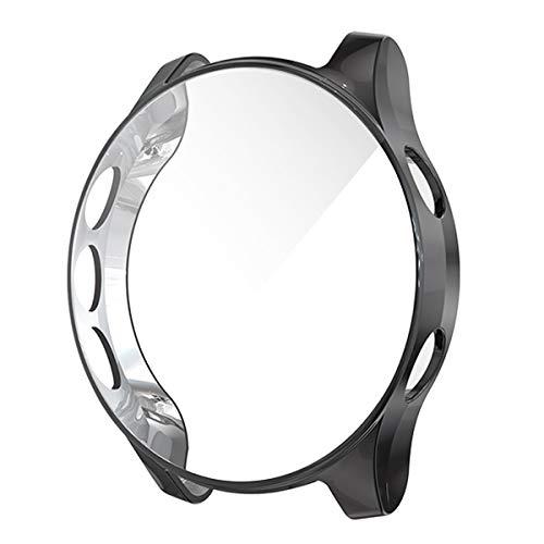 Garmin Forerunner 935/945 Screen Protector Case,JZK Soft Slim TPU All Around Protective Shell Anti-Scratch Case Bumper Cover Case for Garmin Forerunner 935/945 Smartwatch Accessaries,Black