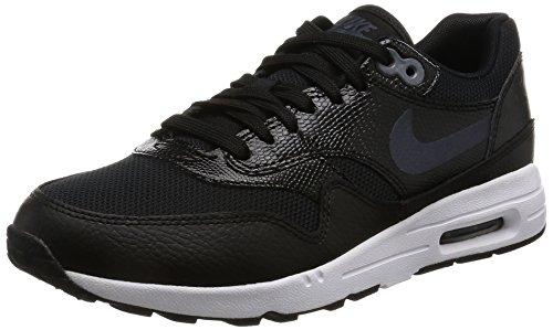 Zapatillas Nike Air Max 1 Ultra 2.0, para mujer, 881104-002, Schwarz (Black/White/Metallic Hematite), 36.5 EU