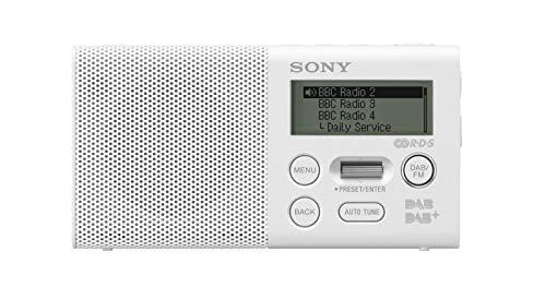 Sony XDR-P1DBP Taschenradio (DAB/DAB+, 20h Akku)