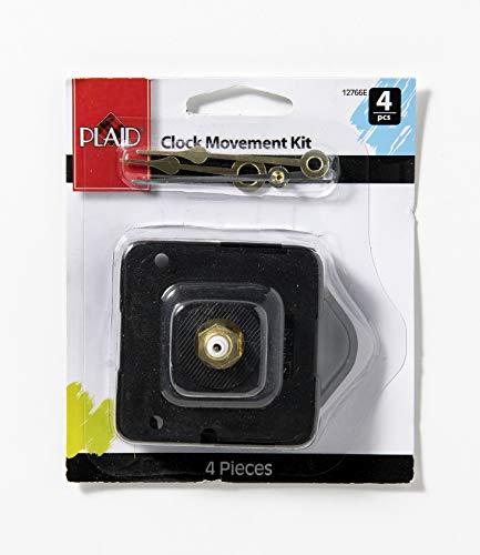 Plaid Clock Movement Kit, 12766 (4-Piece)