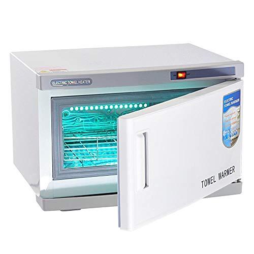 LALEO Esterilizador De Toallas 2 En 1 Esterilizador De Calefacción UV Gabinete Herramientas De Uñas Máquina para Salón De Belleza SPA