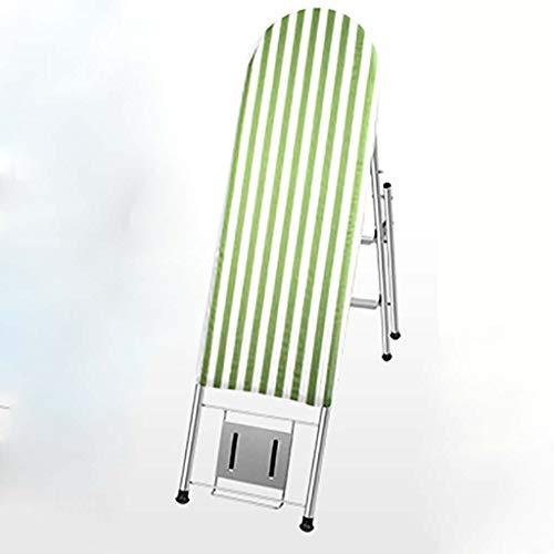 Stapladder, strijkplank, 3 stappen, ladder, multifunctioneel, trapladder, opvouwbaar, goederen met dubbel gebruiksdoel, beugel ladder voor thuis A5