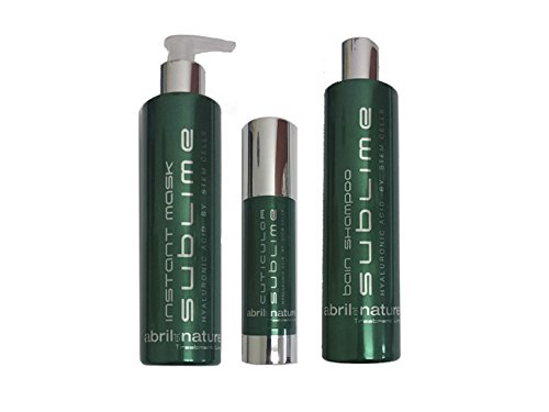 Abril et Nature Sublime Pack Treatment 3 Productos Celulas Madre Y Acido Hialuronico