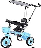 Leichter Urban Kinderwagen ab der Geburt, 3-in-1 Dreirad, verstellbarer Sitz, Baby-Dreirad, 3...