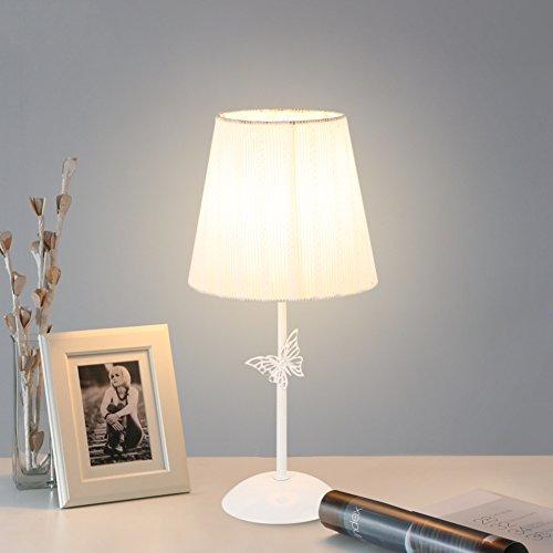 Simple Butterfly Lampe de table,Chambre Lampe de chevet Personnalité Simple Créatif Apprentissage Lampe de lecture-B