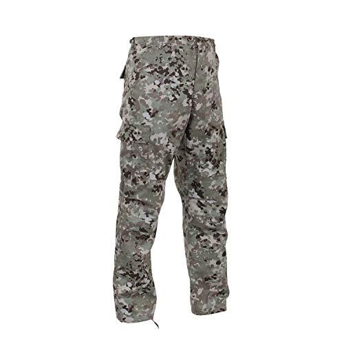 Rothco Camo Tactical BDU (Battle Dress Uniform) Military Cargo Pants, Total Terrain Camo, 2XL