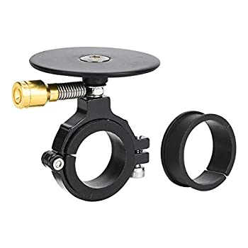 Keenso Bike Bell & Gasket 2 Colors Metal Retro Style Mountain Bike Fold Bicycle Bell for 22mm Handlebar Cycling Accessory Black