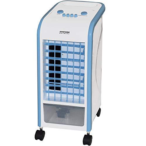 Syntrox Germany 4 in 1 Luftkühler Ventilator Luftbefeuchter Luftreiniger Klimagerät Blau